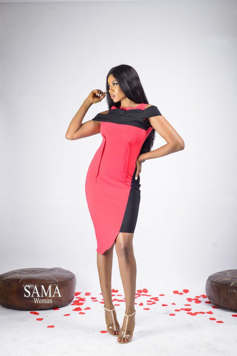 SULTRY SMUT DRESS (Red) 4